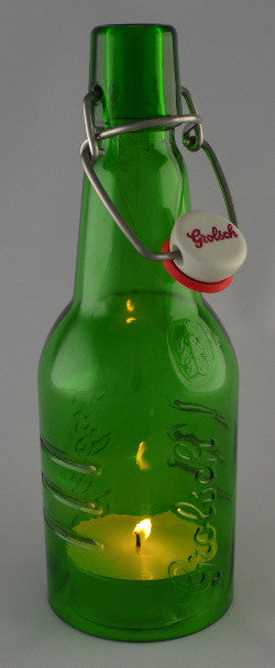 Afterglow - Grolsch candle cover