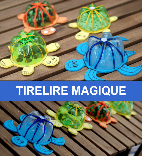 DIY Tirelire Tortue