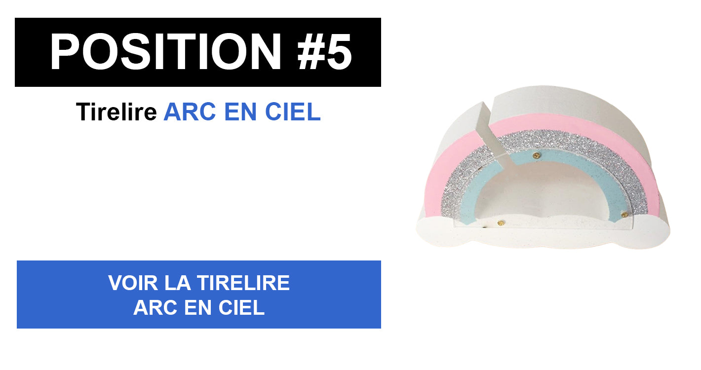Tirelire Arc En Ciel