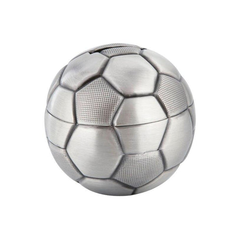 Tirelire Ballon De Foot sur fond blanc