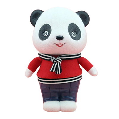 Tirelire Panda Rouge