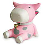Tirelire Vache Rose