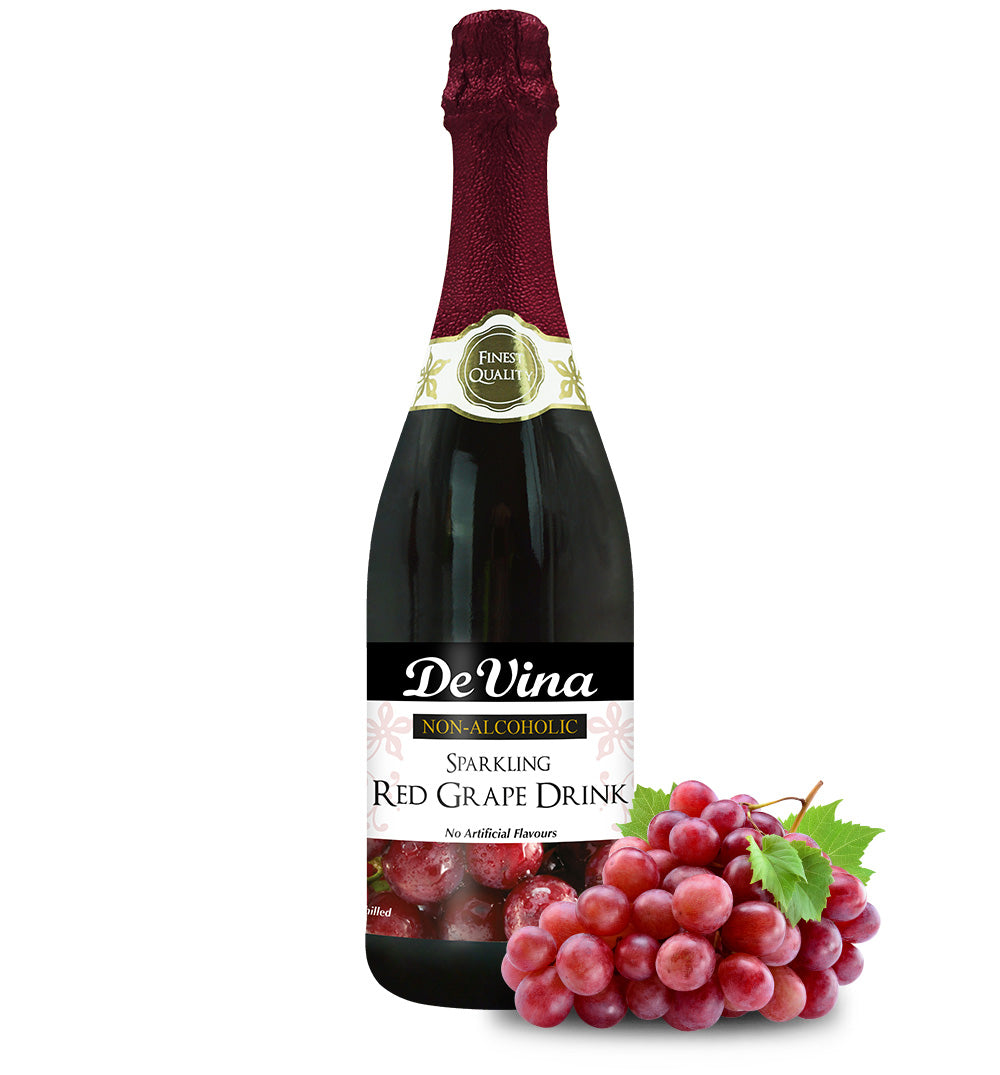 Sparkling Red Grape Drink