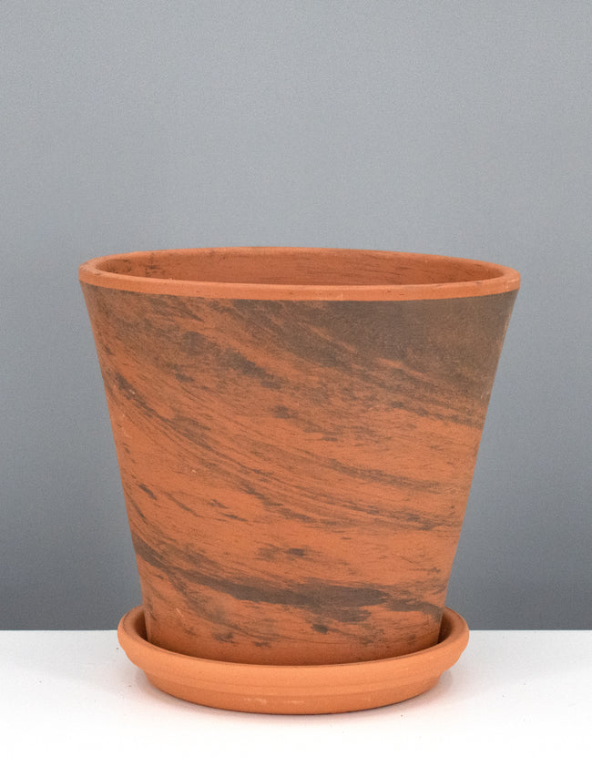 Marbled Terracotta Pottery