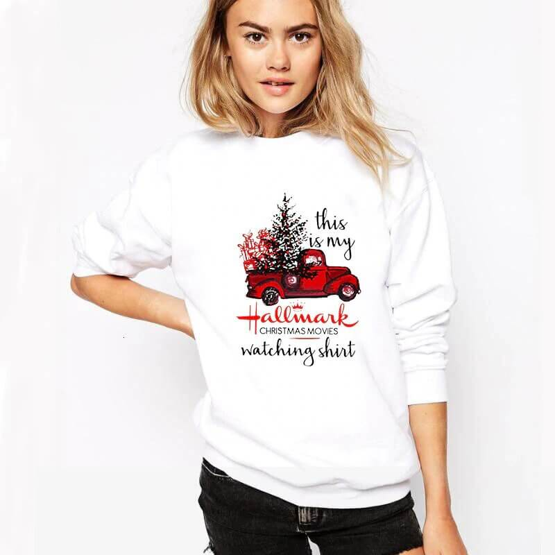 Womens Christmas sweater - Thesantaland