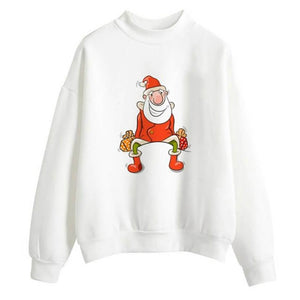 Open image in slideshow, cozy christmas sweater - Thesantaland