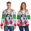 christmas husky sweater - Thesantaland