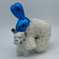 'the excited rabbit' Ceramic Collage Sculpture by Tony Hornecker