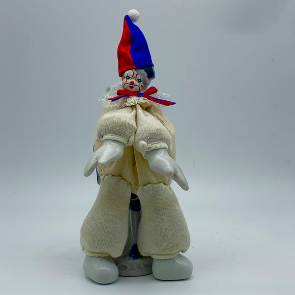 'the sacked clown' Ceramic Collage Sculpture by Tony Hornecker