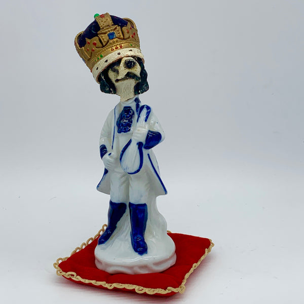 'king tuff' Ceramic Collage Sculpture