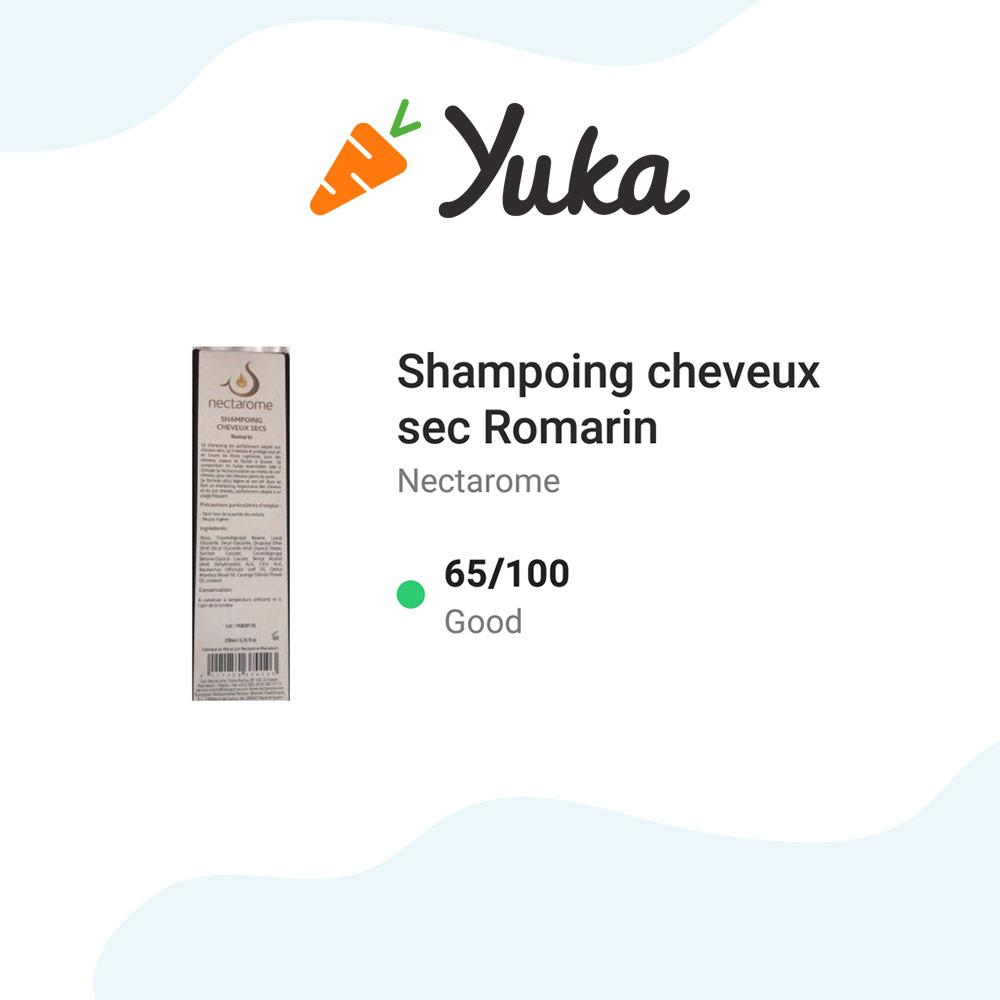 Shampoing romarin Nectarome - 200ml - mona and noor