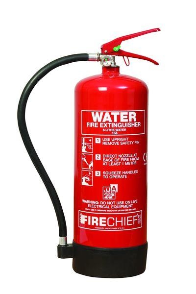 6 Litre Water Extinguisher