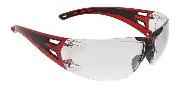 JSP Forceflex 3 Safety Goggles Black/Red