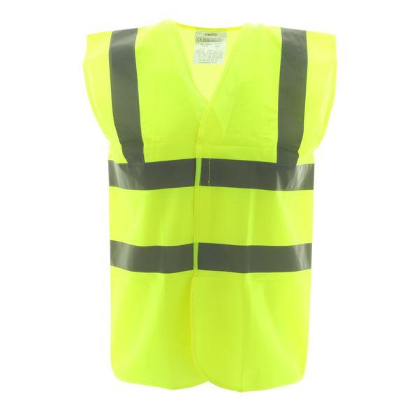 High Vis 2 Band Waistcoat - Yellow Security - XXL