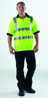 High Visibility Polo Shirt - Med