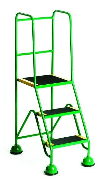 Premium Mobile Steps Green - 3 Step