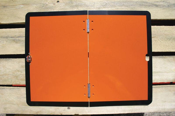 120x300mm Folding Hazchem Vehicle Plate