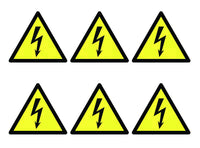 Electricity Symbols - Pk of 30 Labels