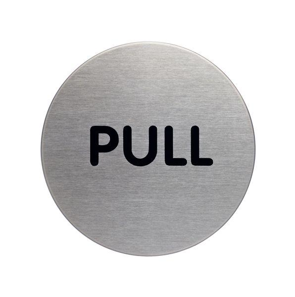 65mm Pull picto door sign