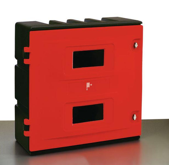 Fire Extinguisher Cabinet - Holds 4 x 9-12kg extinguishers/5 CO2 extinguishers or 1 Fixed Hose Reel