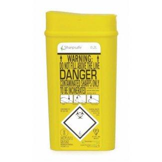 Sharps Disposal Container (0.2 litre)