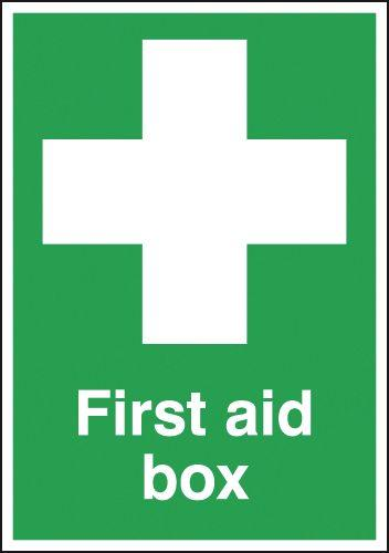 210x148mm First Aid Box - Rigid