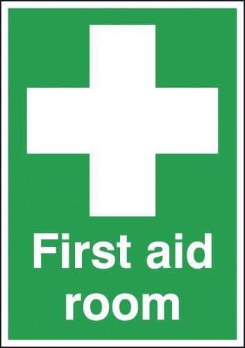 420x297mm First Aid Room - Self Adhesive