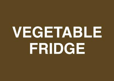 148x210mm Vegetable Fridge - Rigid