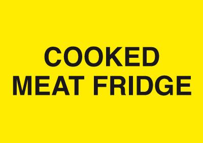 148x210mm Cooked Meat Fridge - Rigid