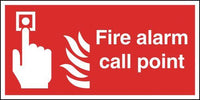 210x148mm Fire Alarm Call Point - Rigid