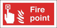100x200mm Fire Point - Self Adhesive
