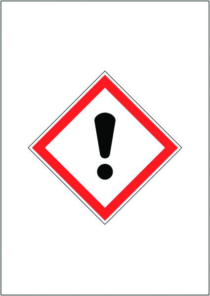 A4 HARMFUL GHS SIGN MAGNETIC