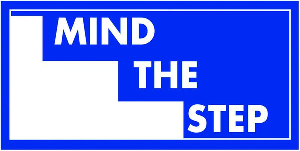 150x300mm Mind the step - rigid