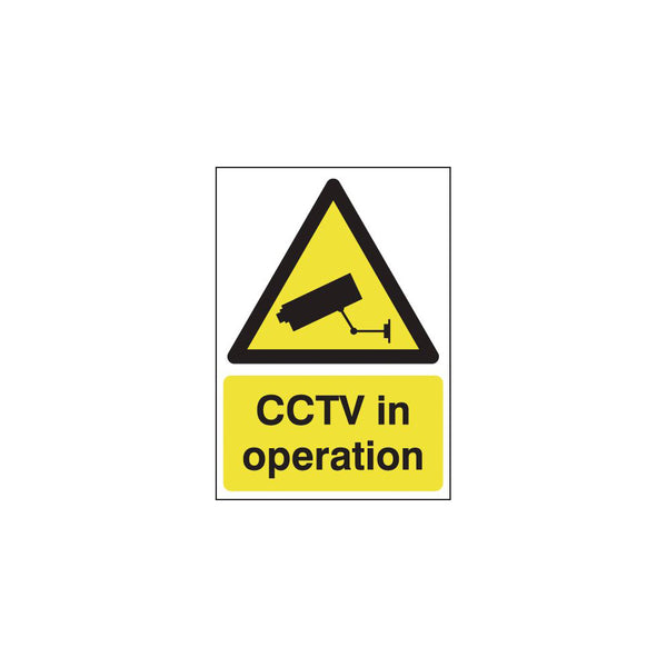 CCTV in Operation Sign - 210 x 148mm (A5)