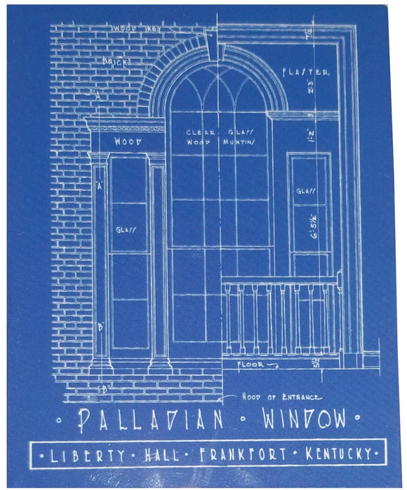 Palladian Window Magnet