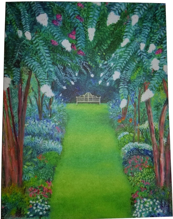 Liberty Hall Gardens Notecards