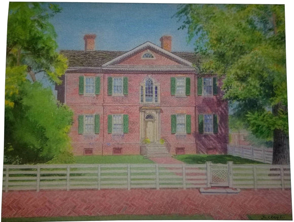 Liberty Hall Historic Site Notecards