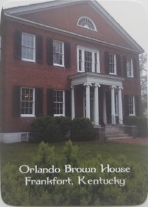 Playing Cards - Orlando Brown House