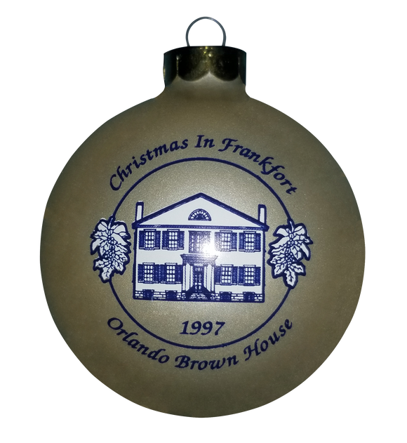 1997 Orlando Brown House Ornament