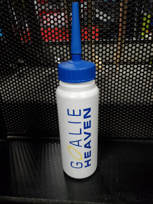 Goalie Heaven Water Bottle