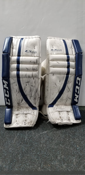 CCM Extreme Flex 400 Goalie Pads - Junior (USED)