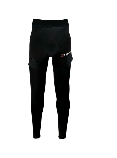 Compression Jock Pant W/Pro Tapered Cup Black