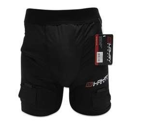 Compression Jock Short W/Pro Tapered Cup Black