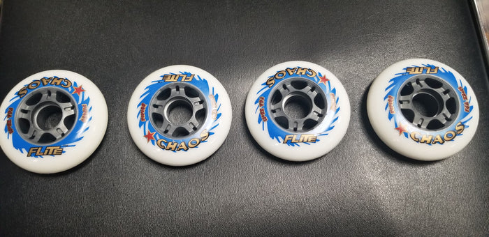 Flite Chaos 80mm Inline Wheels 4-Pack