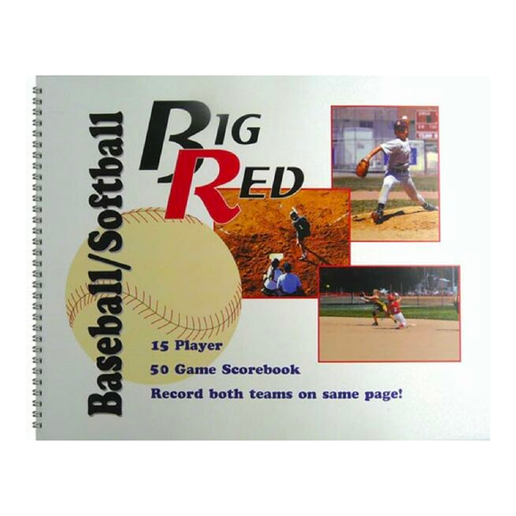 Big Red - Baseball/Softball Scorebook