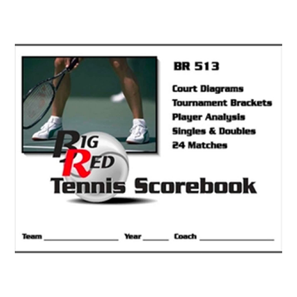 Big Red - Tennis Scorebook