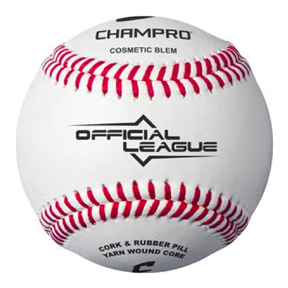 Champro Official League Baseballs - Case of 12