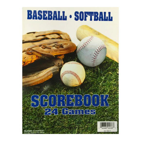Al's Sport Shop - Baseball/Softball 24 Game Scorebook