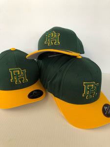 Hat - Patrick Henry High School (Green/Gold hat)