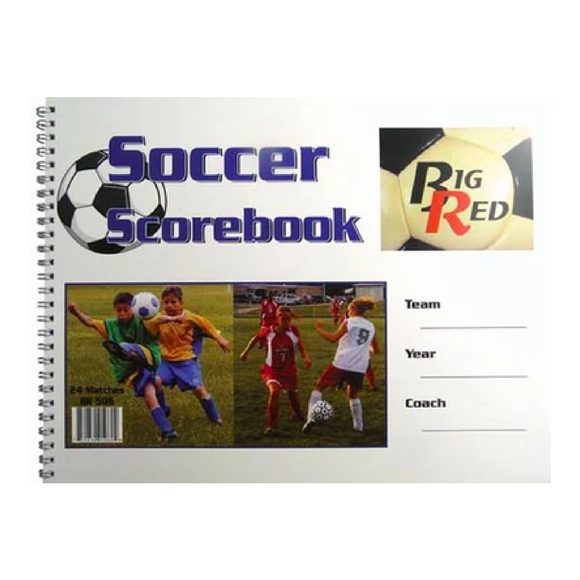 Big Red - Soccer Scorebook